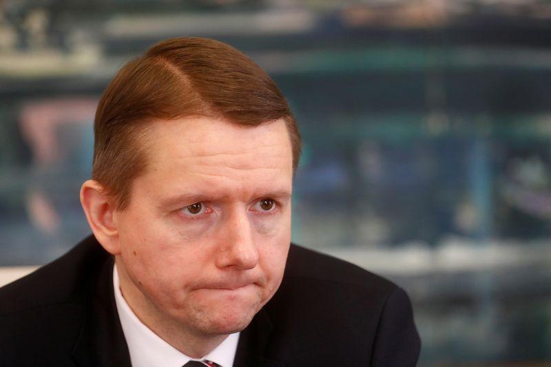 """Peteris Putninas, Latvijos Finansų ir kapitalo rinkų komisijos vadovas. Into Kalninio (""""Reuters"""" / """"Scanpix"""") nuotr."""