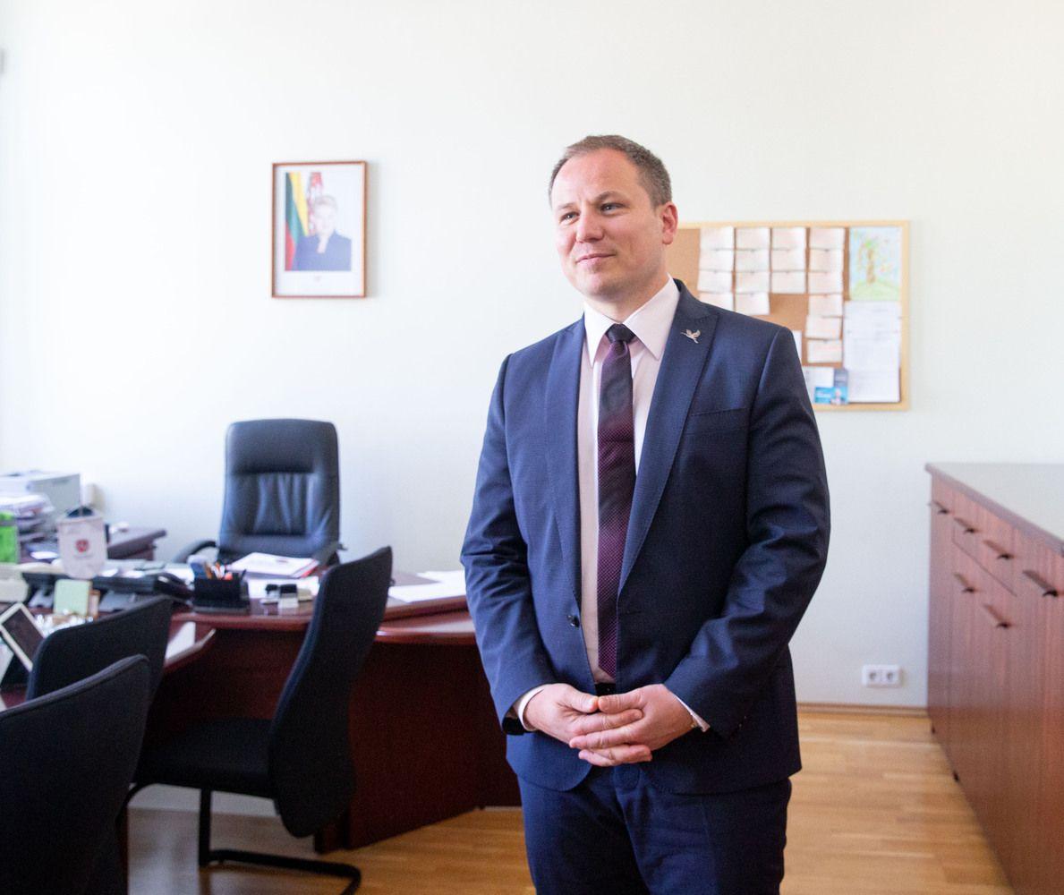 """Kaune atidaryta """"veidrodinė"""" Žemės ūkio ministerija"""