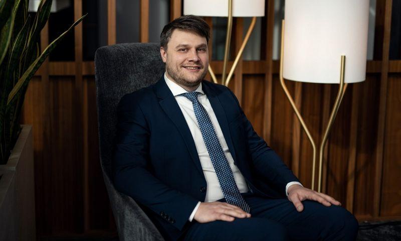 """""""Geriausios priemonės apsaugoti konfidencialią informaciją yra prevencija ir gebėjimas laiku informuoti darbuotojus"""", – tvirtina Deividas Pelenis, """"ESET Lietuva"""" pardavimų vadovas. Bendrovės nuotr."""