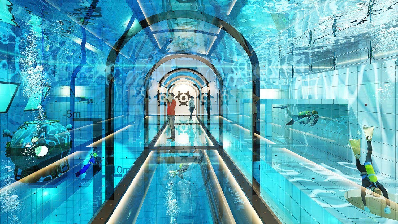 Giliausias pasaulio baseinas atsidarys Lenkijoje