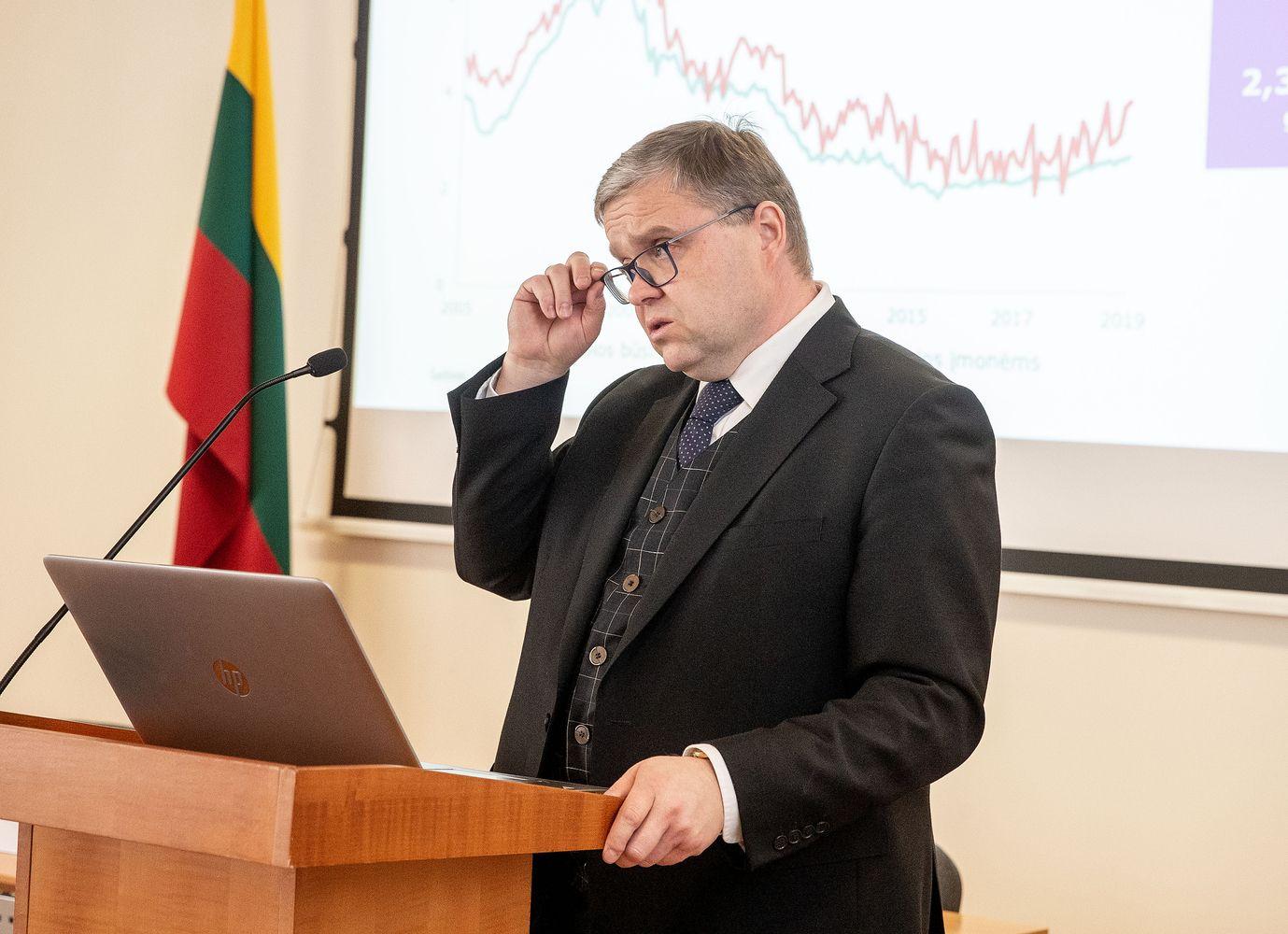V. Vasiliauskas: bandymai keisti LB veiklos įstatymą būtų rimtas signalas