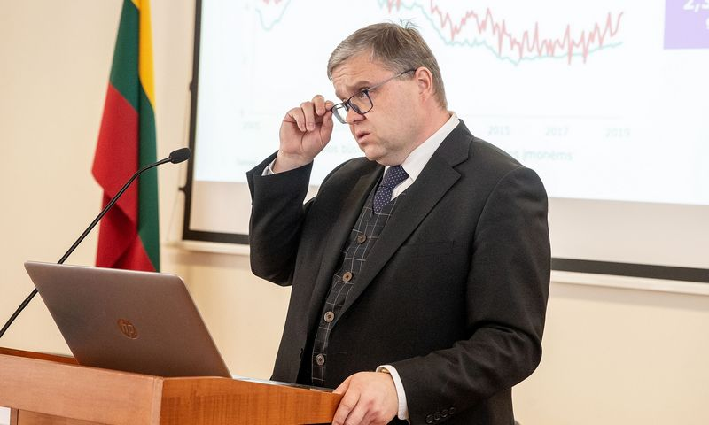 Vitas Vasiliauskas, Lietuvos banko valdybos pirmininkas. Juditos Grigelytės (VŽ) nuotr.