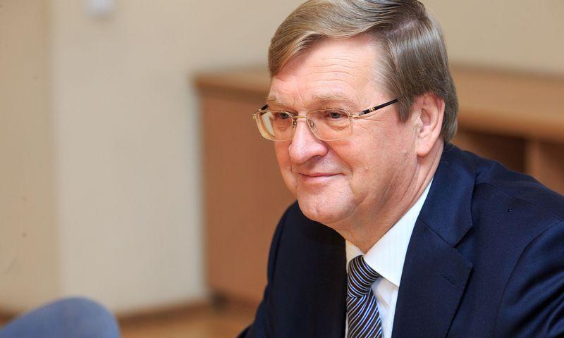 """Stasys Dailydka, vienas """"LGC Cargo"""" akcininkų ir vadovų. Vladimiro Ivanovo (VŽ) nuotr."""