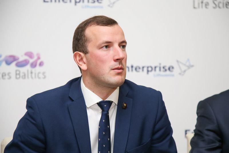 Virginijus Sinkevičius, ekonomikos ir inovacijų ministras. Vladimiro Ivanovo (VŽ) nuotr.