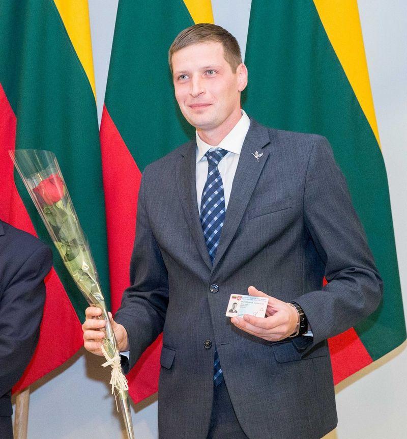 Naujuoju aplinkos ministru paskirtas Seimo narys Kęstutis Mažeika. Juditos Grigelytės (VŽ) nuotr.