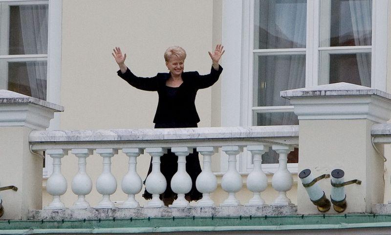Į prezidento rūmus kaip šeimininkė Dalia Grybauskaitė pirmąkart įžengė 2009 m. liepos 12 d. Vladimiro Ivanovo (VŽ) nuotr.