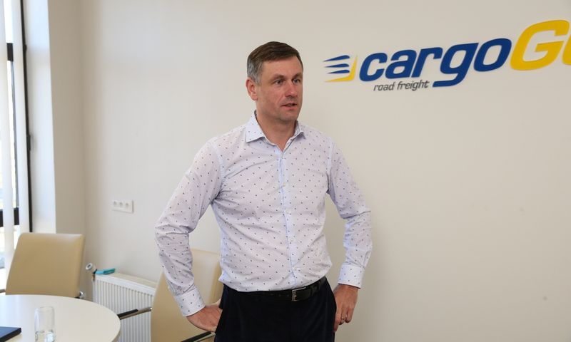 """Donatas Butinavičius, """"GO valda"""" akcininkas: """"Ukrainiečiai sudaro daugiau kaip pusę vairuotojų, o tendencija yra tokia, kad lietuvių vairuotojų Lietuvoje iš viso nebeliks."""" Vladimiro Ivanovo (VŽ) nuotr."""