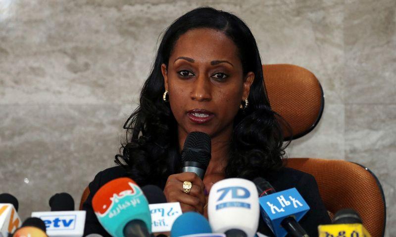 "Dagmawit Moges, Etiopijos transporto ministrė. ""Reuters"" / ""Sanpix"" nuotr."
