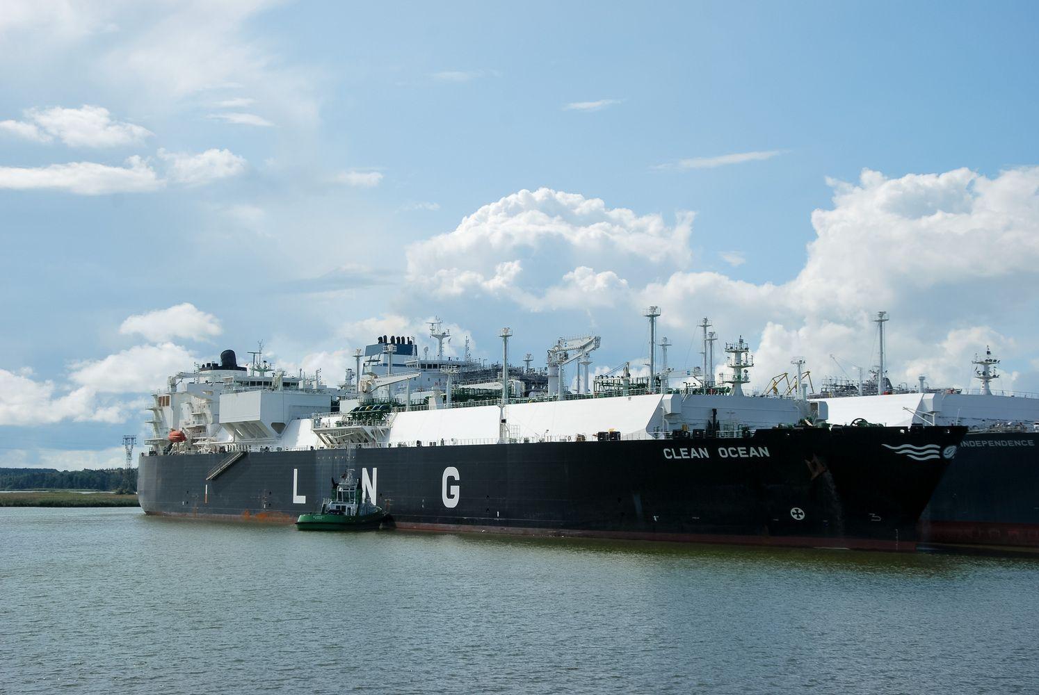 Suskystintos gamtinės dujos plūstelėjo į Europą