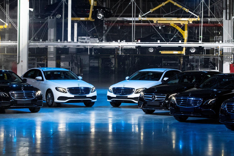 "Šalia Maskvos atidaryta nauja ""Mercedes-Benz"" gamykla"