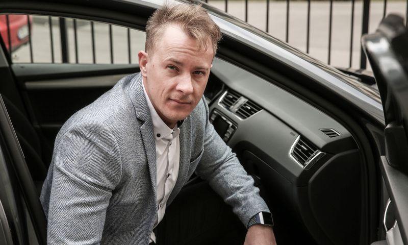 Juozas Stundys, Policijos informacijos valdybos Projektavimo ir plėtros skyriaus vedėjas, pasakoja, kad policijos naudojama automobilių dalijimosi sistema leido pasiekti naują parko efektyvumo lygmenį. Vladimiro ivanovo (VŽ) nuotr.