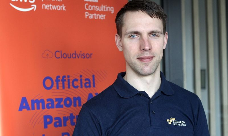 """Cloudvisor"" vadovas Julius Gregorauskas."