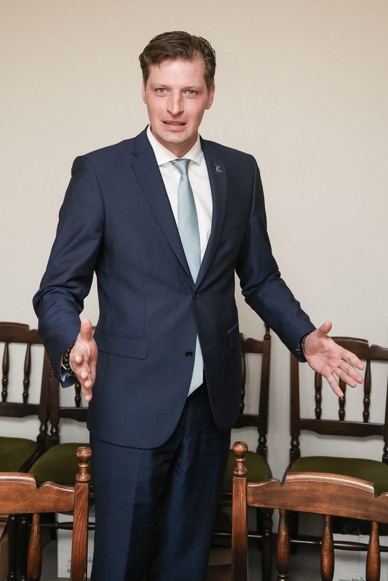 Paskirtasis aplinkos ministras Kęstutis Mažeika. Vladimiro ivanovo (VŽ) nuotr.