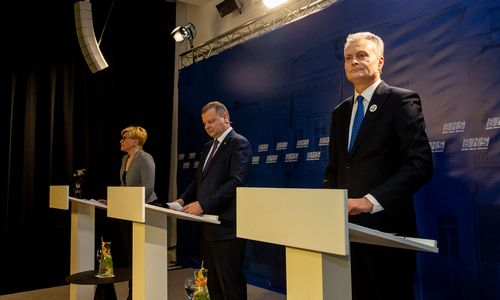 Įvyko kandidatų į prezidentus debatai