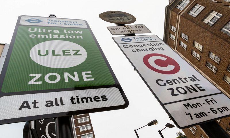 """Londono Ypač mažos taršos zona. """"Scanpix"""" nuotr."""