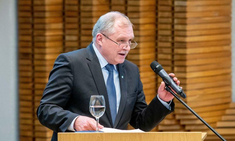 Lietuvos prekybos, pramonės ir amatų rūmų asociacijos generalinis direktorius Rimantas Šidlauskas. Juditos Grigelytės (VŽ) nuotr.