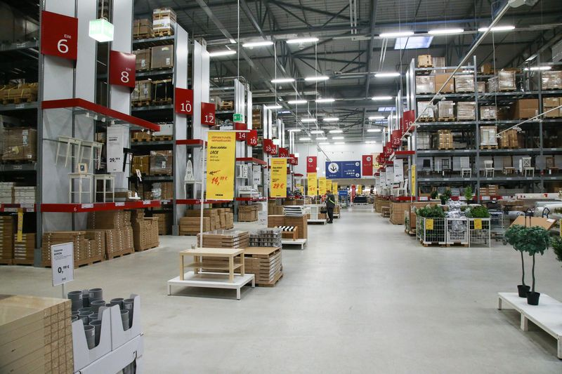 """IKEA"" parduotuvė Vilniuje. Vladimiro Ivanovo (VŽ) nuotr."