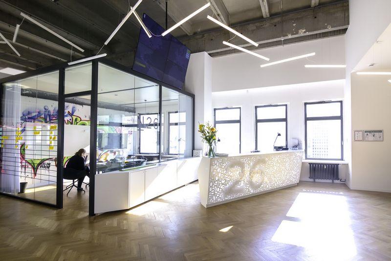 N26 biuras Berlyne. Bendrovės nuotr.