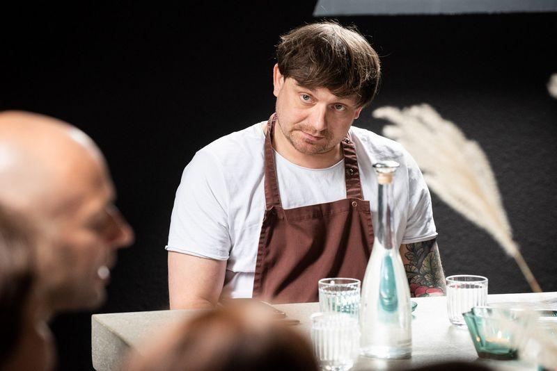 Virtuvės šefo Martyno Praškevičiaus vadovaujami restoranai geriausių sąrašo pirmąją vietą užėmė du kartus. Gedimino Gražio nuotr.