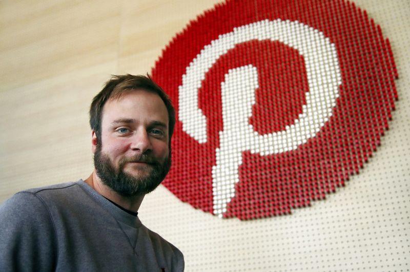 """Evanas Sharpas, vienas """"Pinterest"""" įkūrėjų. Ben Margot (""""Reuters"""" / """"Scanpix"""") nuotr."""