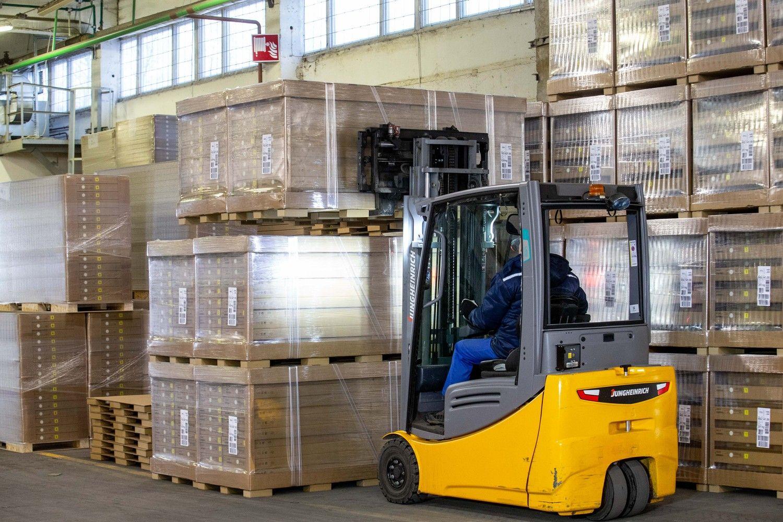 Vasarį kiek pritūpė lietuviškos kilmės prekių eksportas