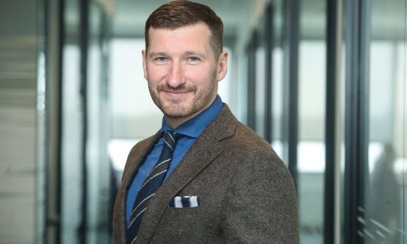 """""""Vilniaus vandenų"""" generalinis direktorius Marius Švaikauskas."""