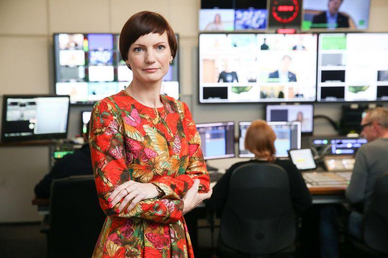 LRT generalinė direktorė Monika Garbačiauskaitė-Budrienė. Vladimiro Ivanovo (VŽ) nuotr.
