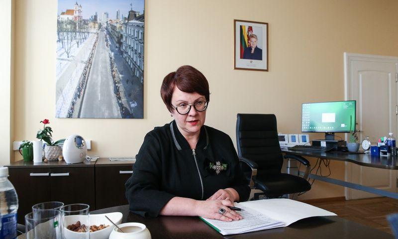Edita Janušienė, VMI vadovė.
