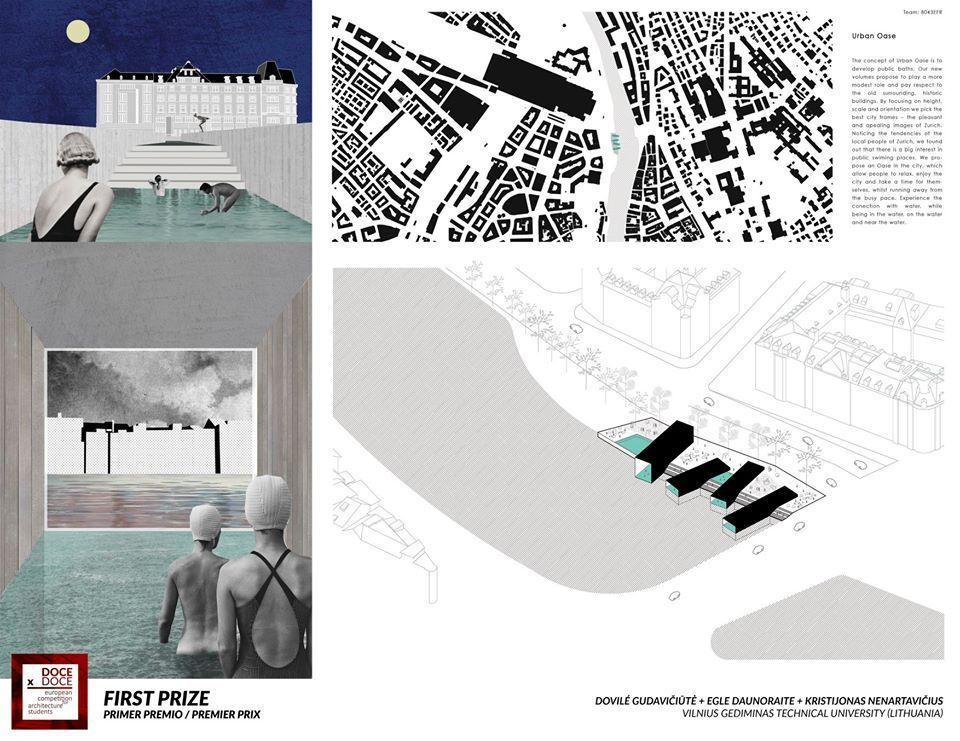 VGTU architektūros studentai laimėjo tarptautinį konkursą