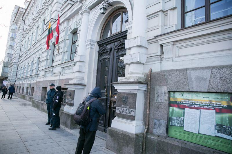 "Vilniaus apygardos teismas. Juliaus Kalinsko (BNS / ""Scanpix"") nuotr."