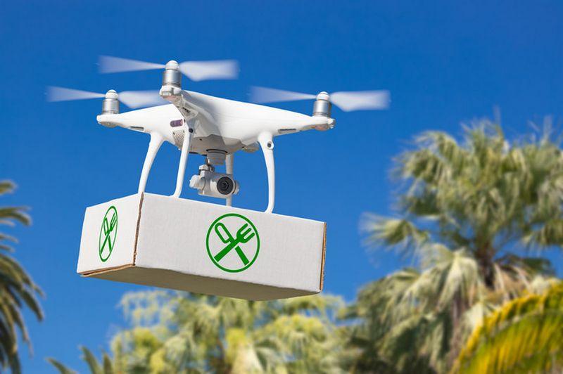 """""""Wing"""" užsakymų pristatymo dronais lenktynėse pavyko pralenkti prekybos platformą """"Amazon"""". """"Matton"""" nuotr."""