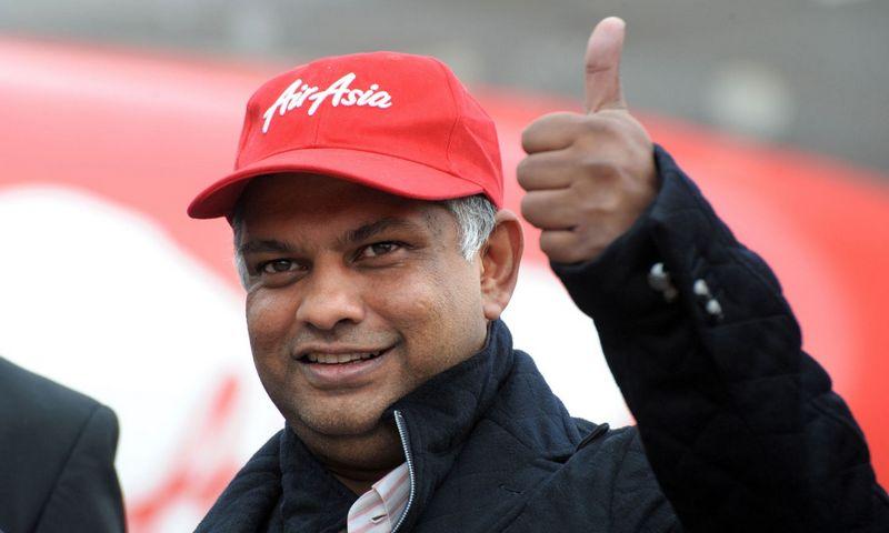 "Tony Fernandesas, ""Air Asia"" vadovas. Erico Piermonto (""AFP"" / ""Scanpix"") nuotr."