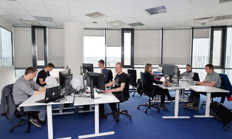 """ProtonMail"" biuras Vilniuje. Elvio Žaldario (""ProtonMail"") nuotr."