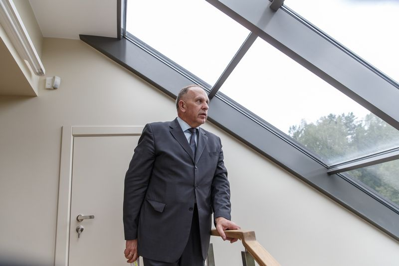 Lietuvos ambasadorius Rusijoje Remigijus Motuzas. Vladimiro Ivanovo (VŽ) nuotr.