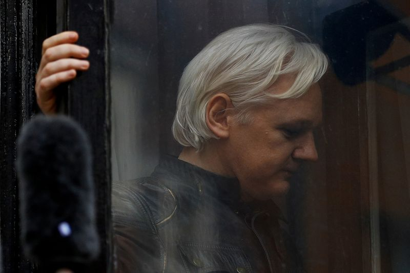 "Julianas Assange'as. Peterio Nichollso (""Scanpix"") nuotr."