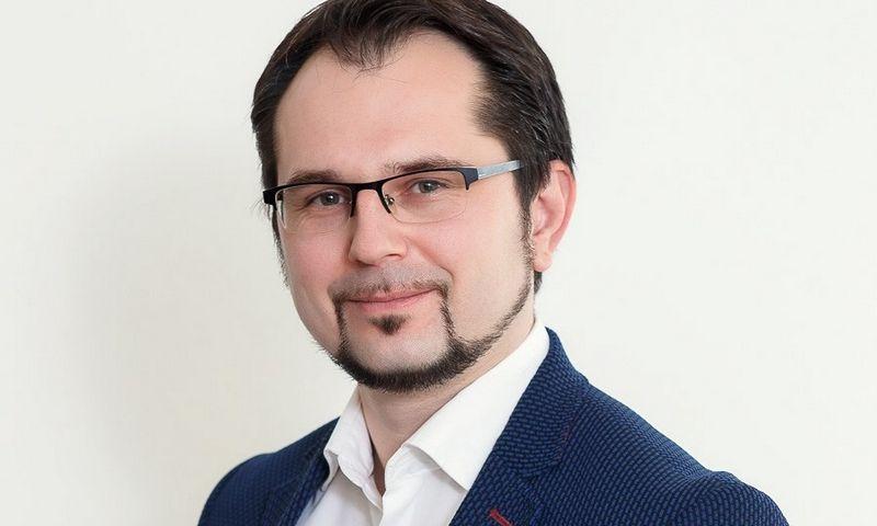 """VšĮ """"Intechcentras"""" direktorius Audrius Jasėnas."""