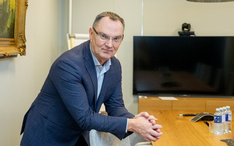 Sigitas Paulauskas, Vakarų medienos grupės (VMG) akcininkas ir verslo plėtros konsultantas. Juditos Grigelytės (VŽ) nuotr.