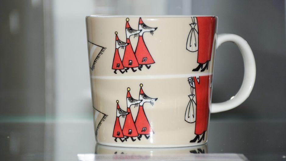Už puodelį su Mumių slėnio gyventojų atvaizdais – per 6.000 Eur