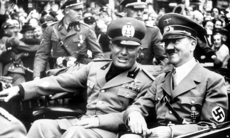 """Adolfas Hitleris rašė Benito Mussolini, kad su Rusija sunku susitarti dėl interesų lauko ir nukreipti jų ambicijas į rytus. """"Topham Pictturepoint"""" nuotr."""