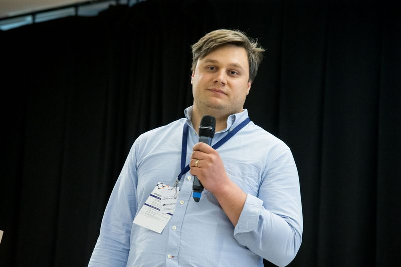 """Deividas Pelenis, UAB """"Baltimax"""" pardavimų vadovas. Juditos Grigelytės (VŽ) nuotr."""