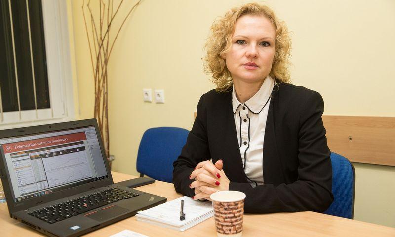 Laima Staknytė-Patinskienė komunikacijos specialistė. Vladimiro Ivanovo (VŽ) nuotr.