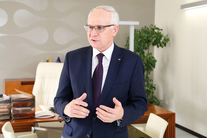 Algirdas Monkevičius, švietimo, mokslo ir sporto ministras. Vladimiro Ivanovo (VŽ) nuotr.