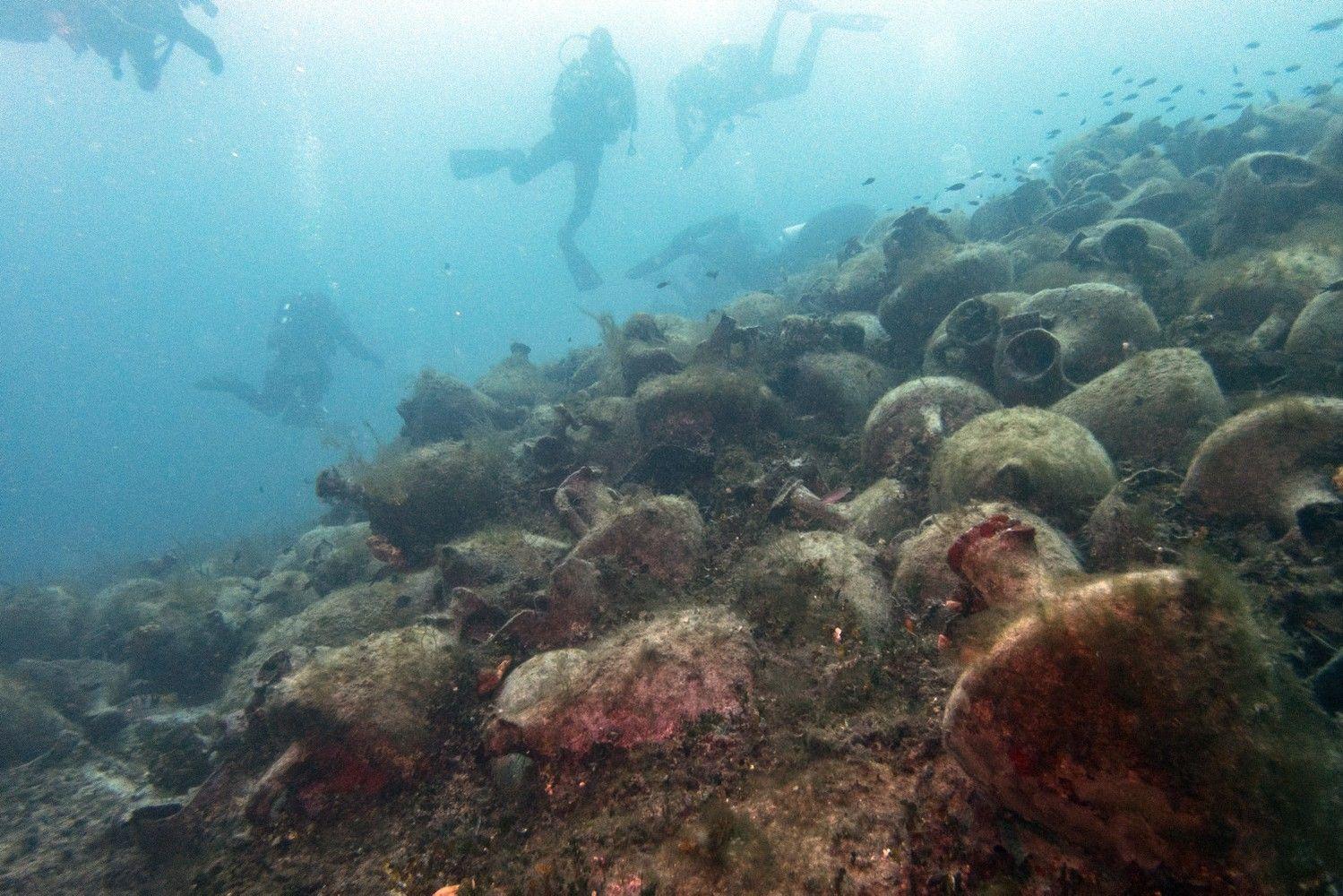 Graikija ir Turkija turistams atvers senovinių laivų sudužimo vietas