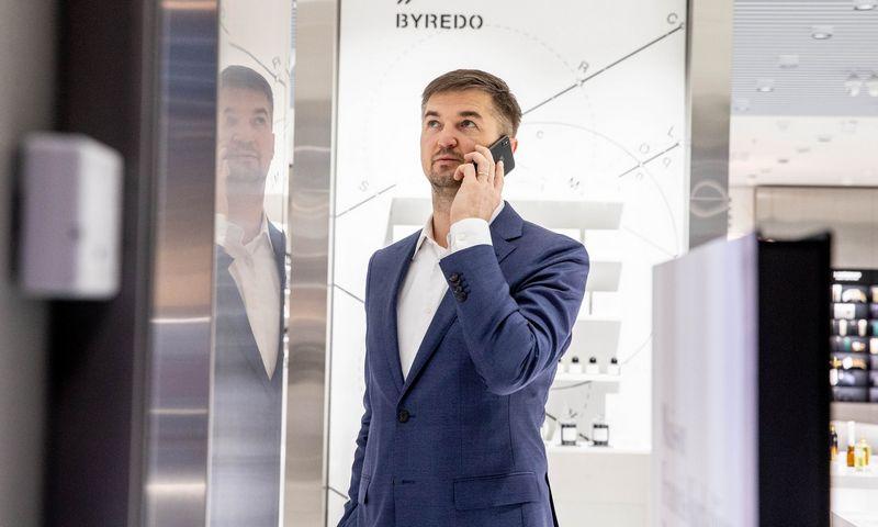 """Vytautas Labeckas, """"Akropolis Group"""" valdybos pirmininkas. Juditos Grigelytės (VŽ) nuotr."""