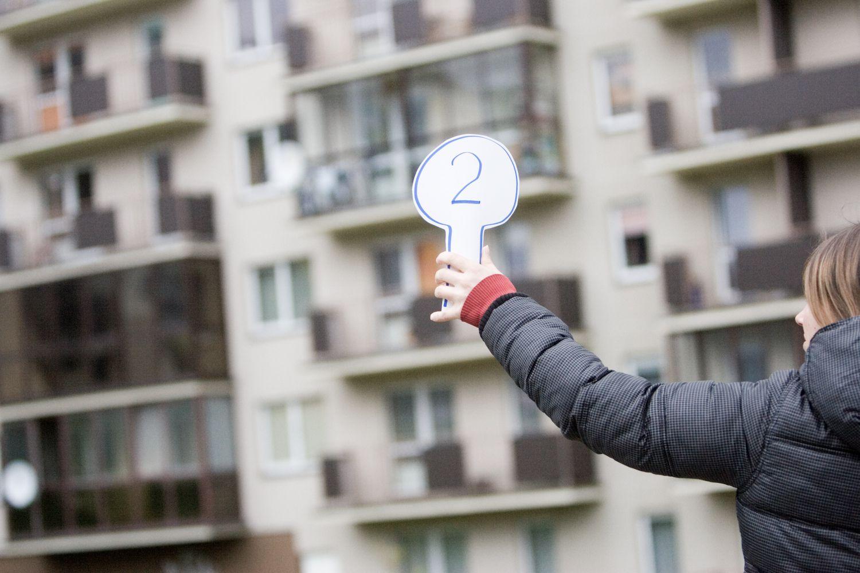 Kunkuliuojanti būsto rinka apstulbino, bet nerimo nesukėlė