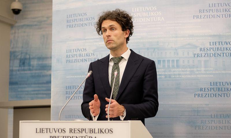 Konkurencijos tarybos pirmininkas Šarūnas Keserauskas. Vladimiro Ivanovo (VŽ) nuotr.
