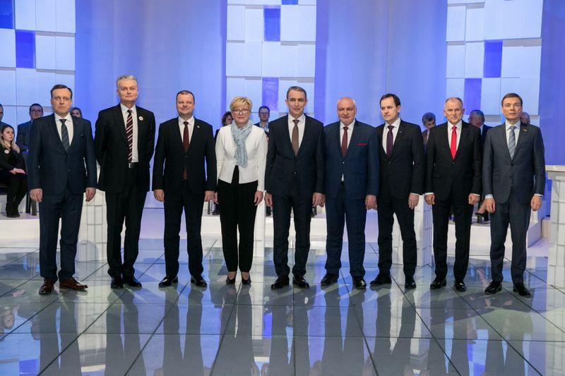 "Kandidatai į Lietuvos Respublikos Prezidentus. J. Kalinsko (""15min.lt"") nuotr."