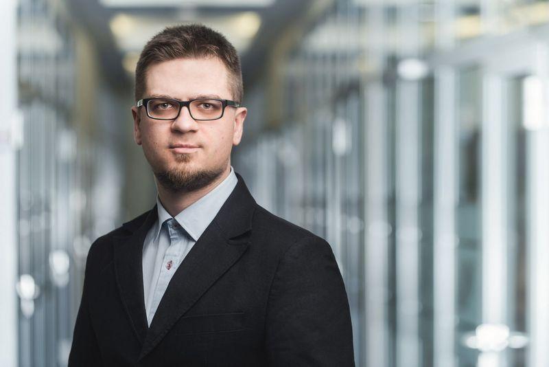 """Blue Bridge"" kibernetinio saugumo ekspertas Ugnius Klevinskas."