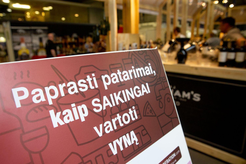 """NTAKD riboja tarptautinių """"Vyno dienų"""" reklamą"""