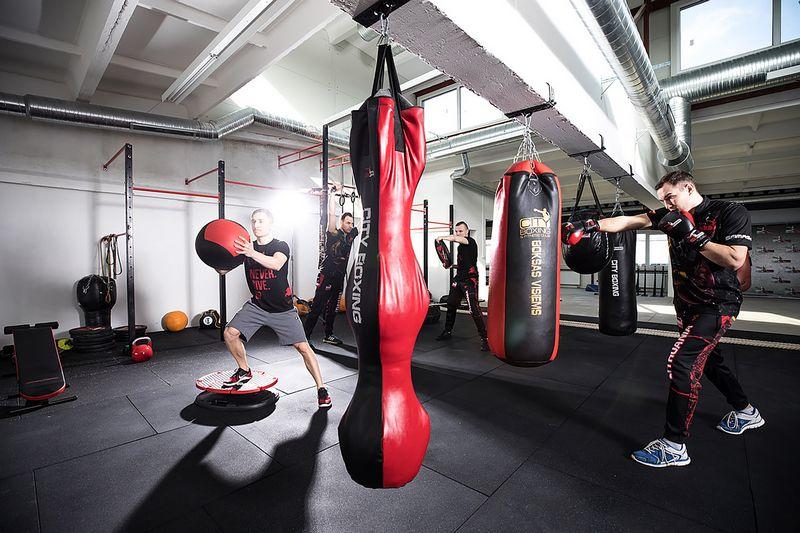 """80% """"City Boxing"""" lankytojų yra mėgėjai, penktadalis – aukštesnio meistriškumo boksininkai. Bendrovės nuotr."""